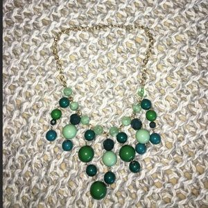 ☘️Francesca's green beaded necklace